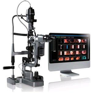 Щелевая лампа HS-5000 с камерой HIS-5000